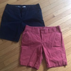 J Crew Frankie size shorts size 8